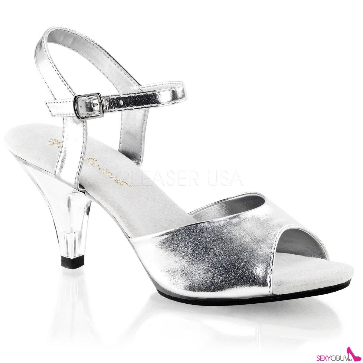 a71720e467a BELLE-309 Sandálky na nízkém podpatku