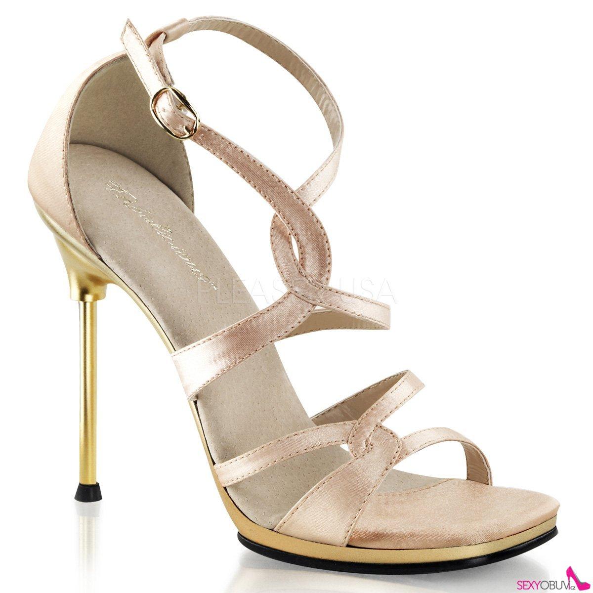 bfd4ecdad0 CHIC-46 Páskové společenské boty na podpatku