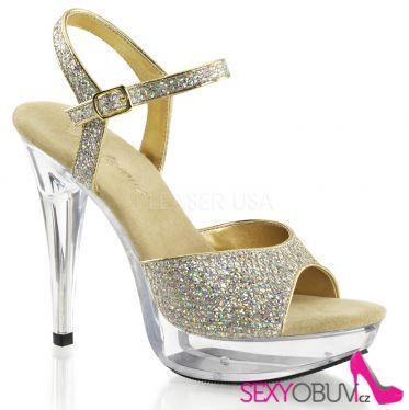 COCKTAIL-509G Společenská obuv na podpatku