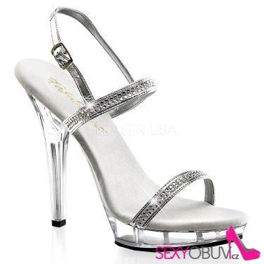 LIP-117 Luxusní společenská obuv na podpatku