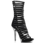 LIP-198 Pásková společenská obuv na podpatku