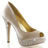 LOLITA-02 Luxusní svatební dámské boty