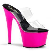 ADORE-702UV Svítící růžové sexy boty
