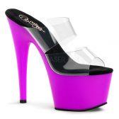 ADORE-702UV Svítící fialové sexy boty