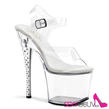 DIAMOND-708 Sexy boty na vysokém podpatku a platformě