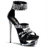 ECLIPSE-637 Sexy obuv na jehlovém podpatku a platformě