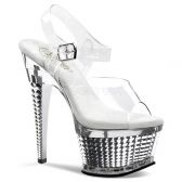 ILLUSION-658 Taneční sexy obuv na podpatku a platformě