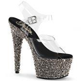 BEJEWELED-708MS Luxusní sexy sandále pleaser