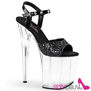 FLAMINGO-810 Sexy boty na obrovském podpatku