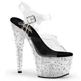 STARBLOOM-708 Luxusní sandály na vysokém podpatku a platformě