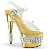 ADORE-708RS-3 Zlaté sexy boty