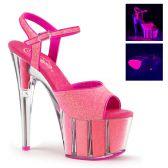 ADORE-709G Svítící růžové sexy boty
