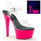 ASPIRE-608UV Svítící sexy boty na strip