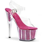 ADORE-708SRS Růžové sexy boty na strip