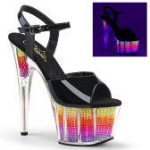 ADORE-709SRS Strip sandály se svítícími kamínky