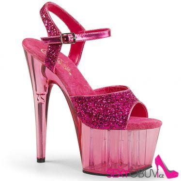 ADORE-710GT Růžové sexy boty na tanec