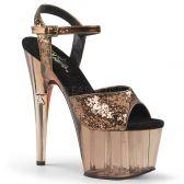 ADORE-710GT Bronzové taneční sexy boty