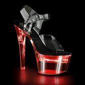 FLASHDANCE-708 Svítící sexy sandály