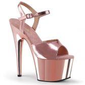 ADORE-709 Sexy boty barvy růžové zlato ado709/rogldpu/m
