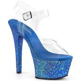 ASPIRE-608LG Modré sexy sandály na vysokém podpatku asp608lg/c/blg