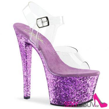 SKY-308LG Sexy boty na podpatku a platformě levandule sky308lg/c/lvg