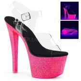 SKY-308UVG Svítící růžové sexy boty sky308uvg/c/nhpg