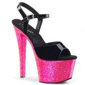 SKY-309UVLG Růžové svítící sexy boty sky309uvlg/b/nhpg