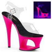 MOON-708UV Svítící růžové boty moon708uv/c/nhp