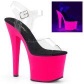 RADIANT-708UV Svítící růžové boty rad708uv/c/nhp