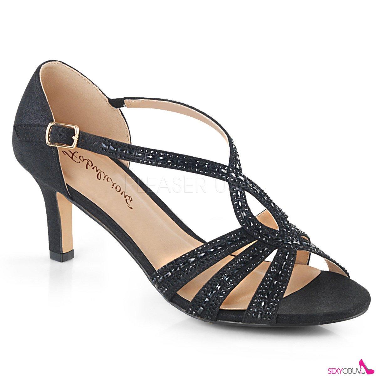 f7760c0a2a6 MISSY-03 Černé plesové boty missy03 bfa