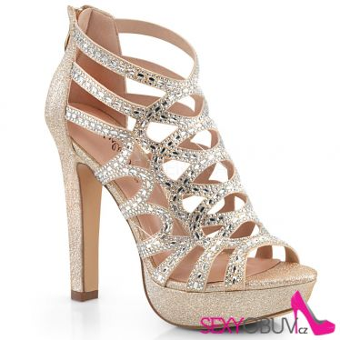 SELENE-24 Svatební páskové společenské boty selene24/chafa