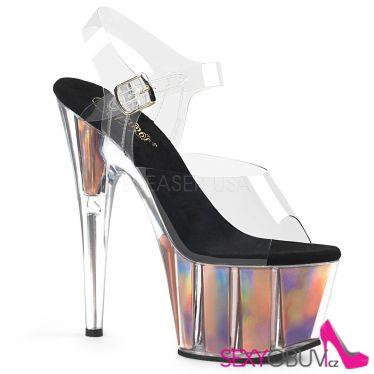 ADORE-708HGI Sexy boty s hologramem růžové zlato ado708hgi/c/rogld
