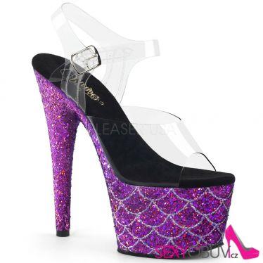 ADORE-708MSLG Fialové luxusní sexy boty ado708mslg/c/ppg