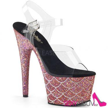 ADORE-708MSLG Lososové luxusní sexy boty ado708mslg/c/salg