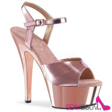 KISS-209 Růžové sexy taneční boty kiss209/rogldpu/m