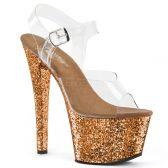 SKY-308LG Bronzové sexy sandály sky308lg/c/bzg na vysokém podpatku