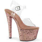 SKY-308LG Sexy sandály sky308lg/c/rogldg růžové zlato