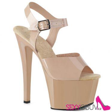 SKY-308N Tělové sexy boty sky308n/crtpu/m