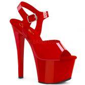 SKY-308N Červené sexy boty sky308n/rtpu/m