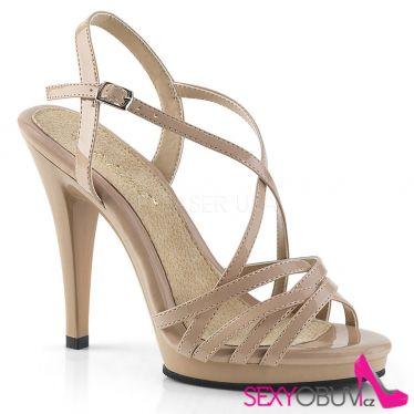 FLAIR-413 Tělové páskové společenské sandály fla413/nd/m