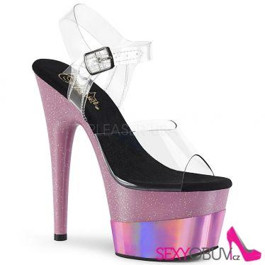 ADORE-708-2HGM Růžové sexy boty ado708-2hgm/c/bpghg