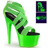 ADORE-769UV Zelené svítící páskové boty ado769uv/ngnels-pt/m