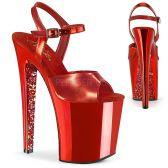 XTREME-809TTG Červené extra vysoké boty xtm809ttg/rmpu/rch