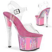 SKY-308OF Růžové taneční sandály sky308of/c/bp